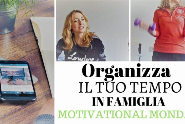 Organizza il tuo tempo in famiglia