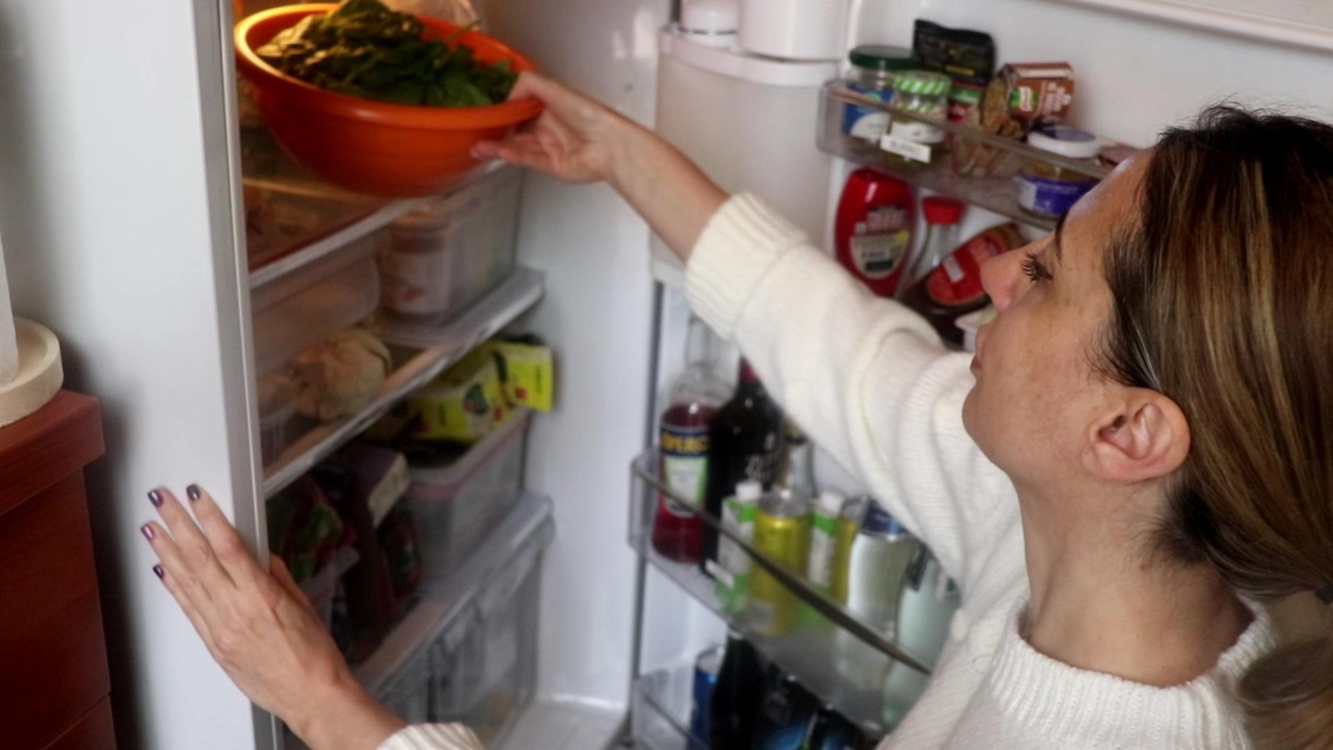 mettere ordine in frigo