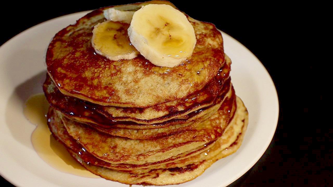 Pancake di banane senza farina