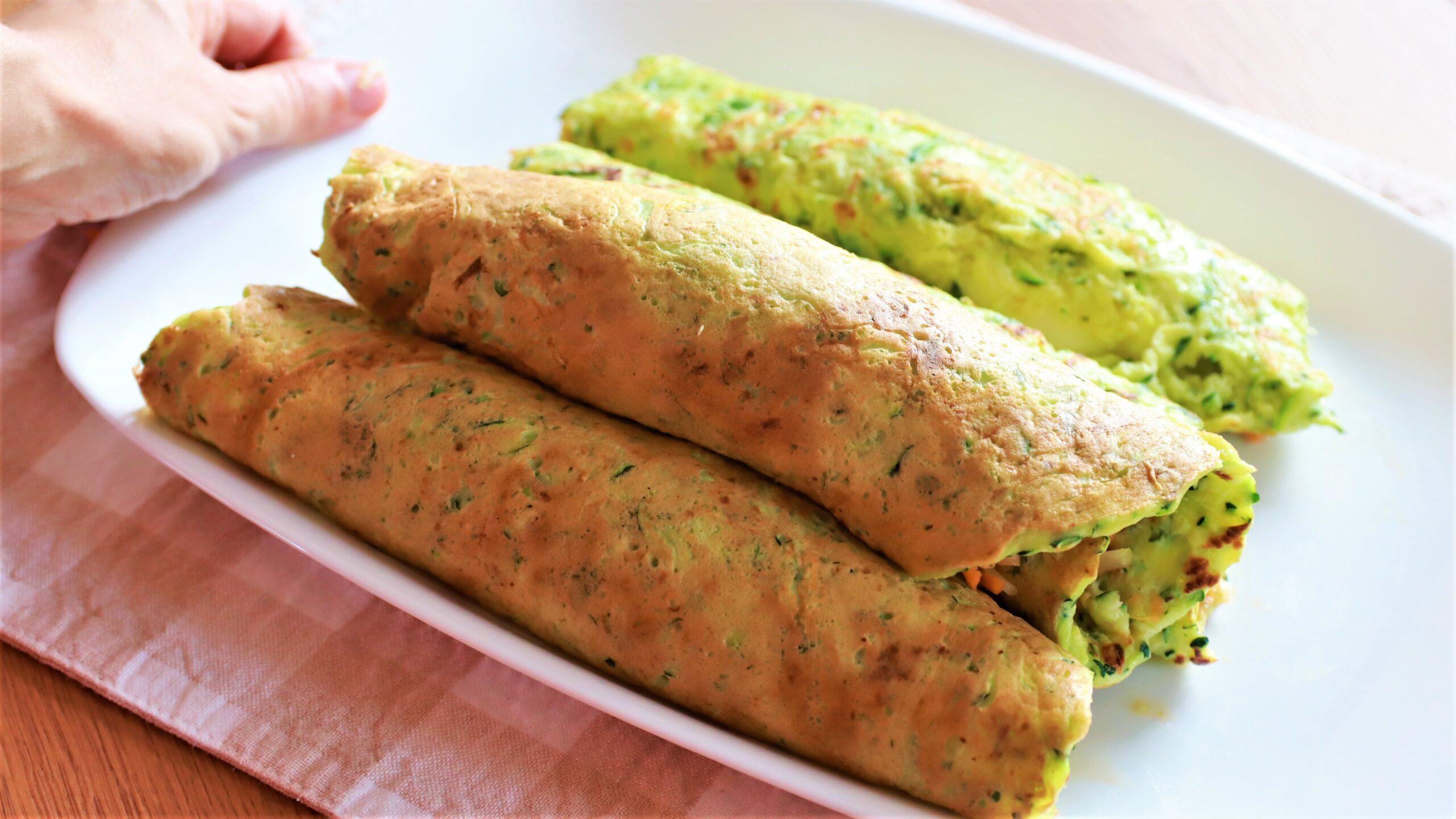 Pancake di Zucchine una cena ricca e veloce!